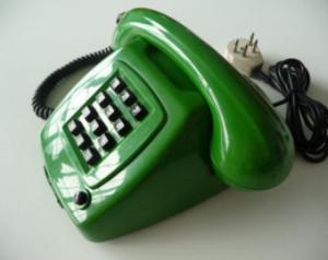 telefoon met draad goodbye